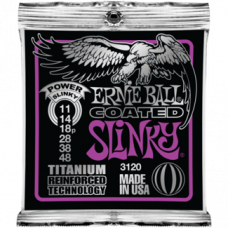 Струны Ernie Ball Coated Titanium Slinky 11-48 (3120)