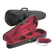 JWC-3016-4/4-R Футляр для скрипки размером 4/4, черный/красный, Jakob Winter