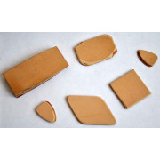 P04 Медиатор кожаный для балалайки контрабас, Мозеръ