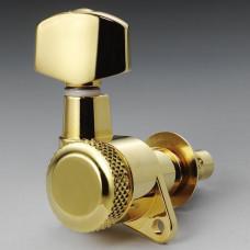 Колки Schaller M6 Locking 6 левые, Золото (10060520)
