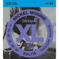 Струны D'Addario Nickel Wound 11-49 (EXL115 XL)