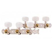 Колки Alice, 3+3 планка, для классической гитары, 35мм, хром (AOD-018CP)