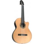 F65CW-7S Performer Series Fiesta Электро-акустическая 7-струнная класс. гитара, с вырезом, Kremona