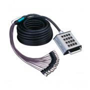 AH603-10m Сценическая коммутационная коробка 12хXLR(F) входов + 4хXLR(M) выхода, 10м, Soundking