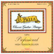 10PH Комплект струн для классической гитары La Bella