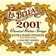 2001EH 2001 Extra Hard Комплект струн для классической гитары, очень сильное натяжение, La Bella