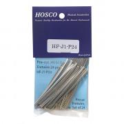 HF-J1-P24 Комплект ладов 24шт по 7см, нейзильбер, джамбо, Hosco