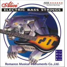 Струны Alice Bass 40-95 (А606 (4)-L)