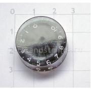 Ручка потенциометра Hosco, под дюймовый шток, черный KB-110I, 1шт