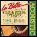Струны LaBella Silk&Steel 12-string Acoustic 10-51 (710-12L)