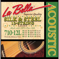 Струны LaBella Silk&Steel 12-string Acoustic 10-51 (710-12L)