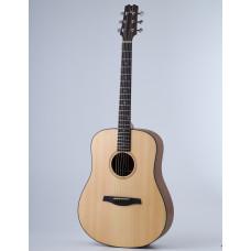 Акустическая гитара Kibin D-Style, цвет натуральный, с чехлом