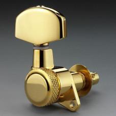 Колки Schaller M6 Locking 3+3, Золото (10060523)