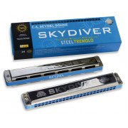 25480C Skydiver C Губная гармошка тремоло, Seydel Sohne