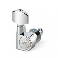 10030220.01.36 M6 Pin Комплект одиночной колковой механики, 6 левых, маленькие, хром, Schaller