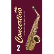 FR17SA02 Concertino Трости для саксофона альт № 2 (10шт), FedotovReeds