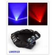 LM0910 Моторизированный прожектор смены цвета (колорчэнджер), 9*10Вт, Big Dipper