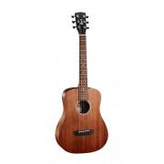 AD-mini-M-OP Standard Series Акустическая гитара 3/4, с чехлом, натуральный, Cort