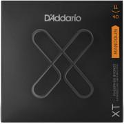 XTM1140 XT Комплект струн для мандолины, фосф.бронза, 11-40, с покрытием, D'Addario