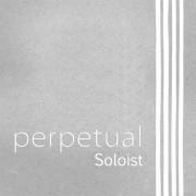 333080 Perpetual Soloist Комплект струн для виолончели размером 4/4, среднее натяжение, Pirastro