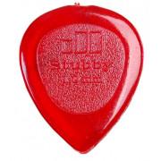Медиатор Dunlop Stubby красный 1.0мм. (474R1.0)