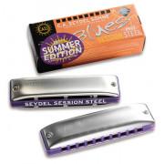 10301F_S Session Steel Summer Edition F Губная гармошка, Seydel Sohne