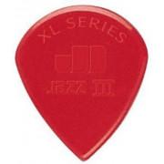 Медиатор Dunlop Nylon Jazz III XL, красный (47R XLN)
