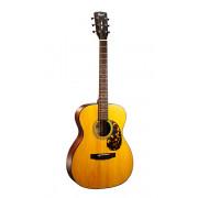 L300VF-NAT Luce Series Электро-акустическая гитара, цвет натуральный, Cort