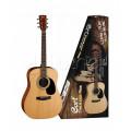Акустическая гитара Cort Trailblazer AD 810 + чехол, медиаторы, тюнер, ремень. цвет натуральный (CAP-810-OP)