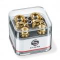 Стреплоки Schaller Security Locks Золото (14010501)