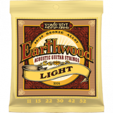 Струны Ernie Ball Earthwood 80/20 Bronze Acoustic 11-52 (2004)