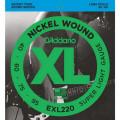 Струны D'Addario Nickel Wound Bass 40-95 (EXL220 XL)