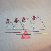 MS-ZH-KT-TR-04 Комплект треугольников No 4, 4шт 8-14см, Мастерская Сереброва