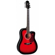 Акустическая гитара Naranda, цвет красный санберст (DG120CBS)