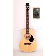 Электроакустическая гитара Parkwood, с тюнером цвет натуральный (PF51E-OP)