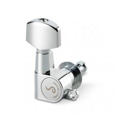 10040223.01.36 M6 Mini Комплект одиночной колковой механики, 3л+3п, маленькие, хром, Schaller