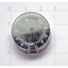 Ручка регулировки GF (Guitar Factory), Черный KB-110, 1шт