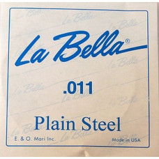 Струна La Bella для гитары 011, сталь (PS011)
