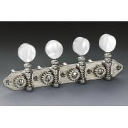 10630164.70.20 Комплект колковой механики для мандолины, никелированный, Schaller