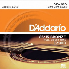 Струны D'Addario American Bronze 85/15 Acoustic 10-50 (EZ900)