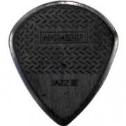 Медиатор Dunlop Nylon Max Grip Jazz черный (471R3S)