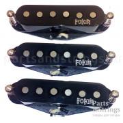 Комплект звукоснимателей Fokin Classic S, черный
