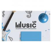 MA-Card Карта доступа к учебной платформе онлайн-академии Music UP, Music UP