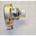 Потенциометр Hosco-GF B25K линейный, для акт. электроники, короткий шток