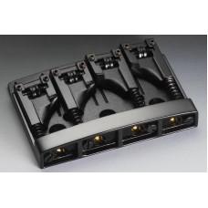 12130400 (1467) 3D-4 BC Бридж (струнодержатель) для 4-х струнной бас-гитары SCHALLER