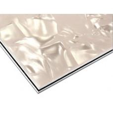 Пластик Hosco для изготовления панелей (pickguard), лист 23х39 см, трехслойный, перлоид (PG-P3)