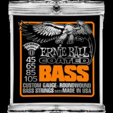 Струны Ernie Ball Coated Slinky Bass 45-105 (3833)