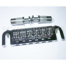 Бридж wrap-a-round Parts (Guitar Technology), ш-26мм, компл, хром (BM004CR)