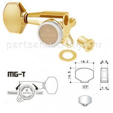 Колки запирающие Gotoh SG381-07R-MGT 6-R Золото