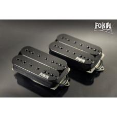 Звукосниматель Fokin Majestic бридж, черный, 53 мм